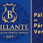 """Brillante – 2019 Hungarian Spirits Award"